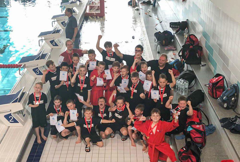SGW Brandenburg Wasserballer U12 und U10 gewinnen bei der Lipsiade in Leipzig