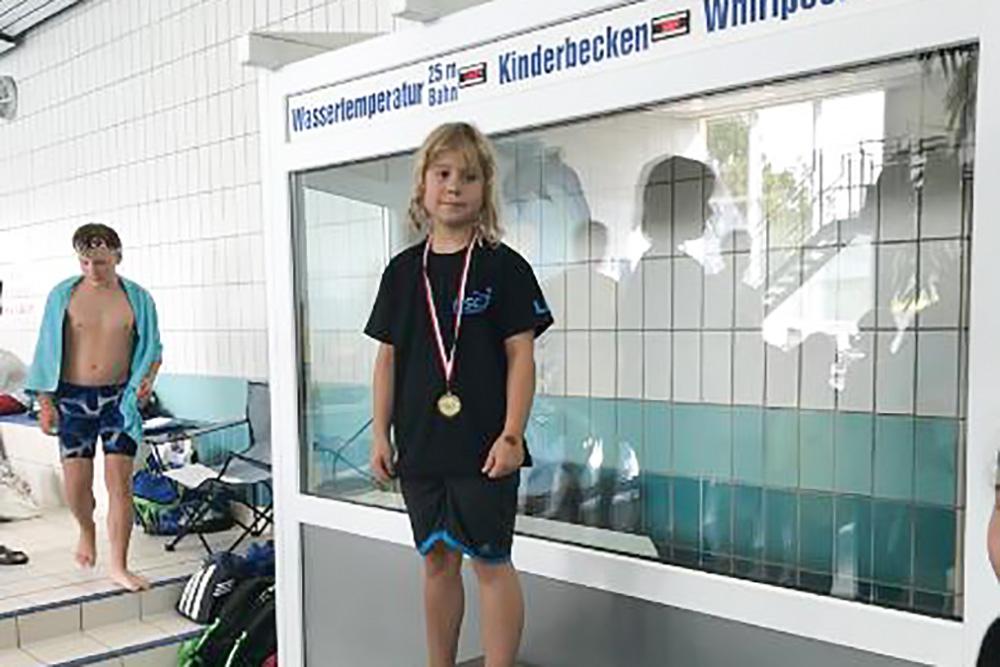 10 Einzelsiege beim 25. Herbstschwimmfest in Rathenow