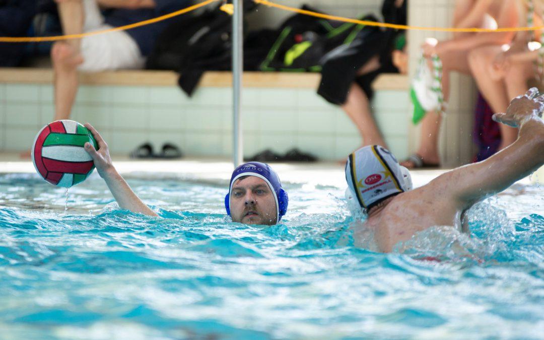 2. Mannschaft Wasserballer im Landespokal auf Platz 2