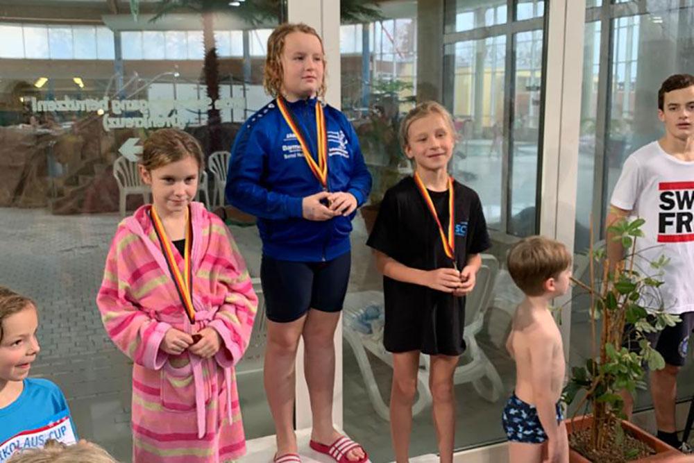 19 ASC Schwimmer beim Nikolaus Cup im Marienbad