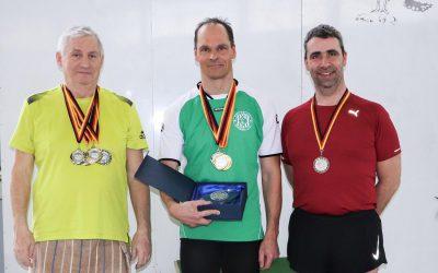 Rolf Stepper mit 3 Siegen beim Masters Schwimmen in Goslar