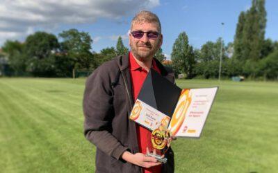 Nico Haberlandt ist Sportsympathiegewinner des Jahres 2019