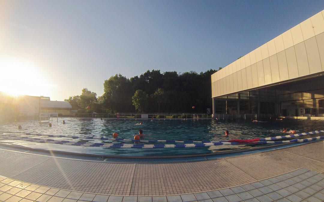 Schwimmbad wird zurück erobert