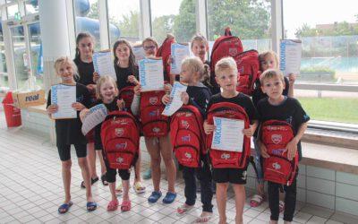 ASC Schwimmer mit 21 LSV-BB – Normzeiten