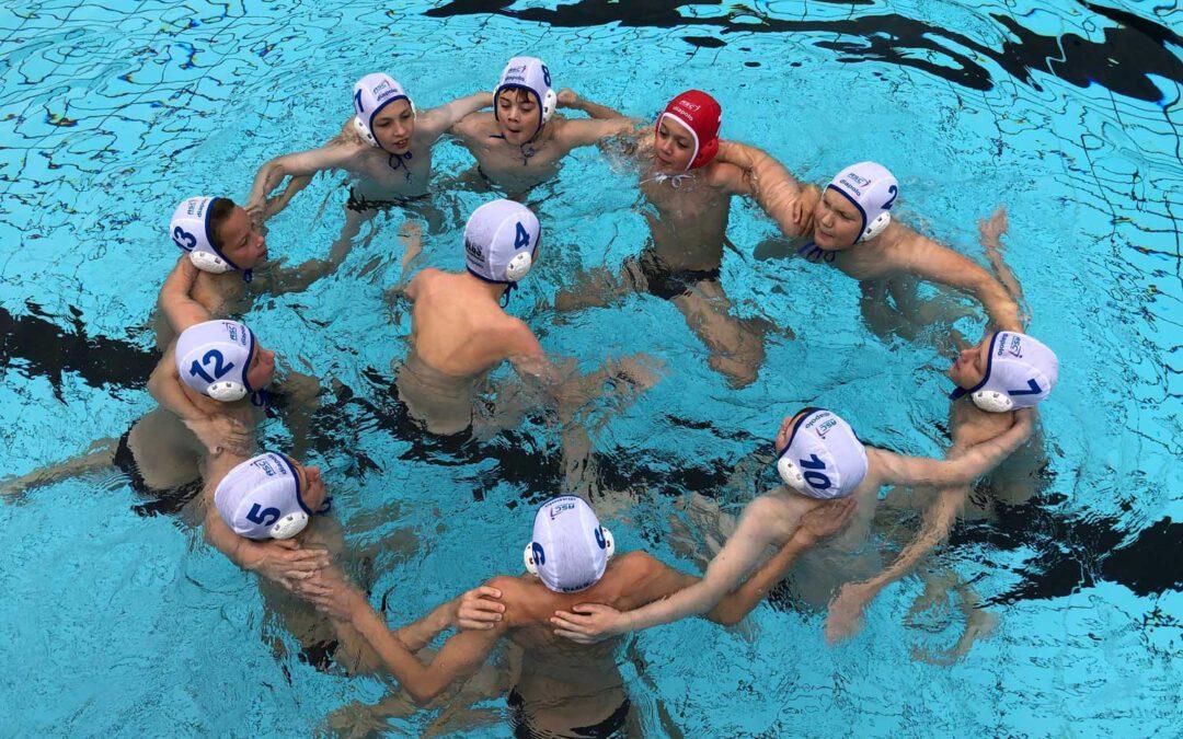 SGW Brandenburg mit 5. Platz im Deutschen Wasserballpokal der U12