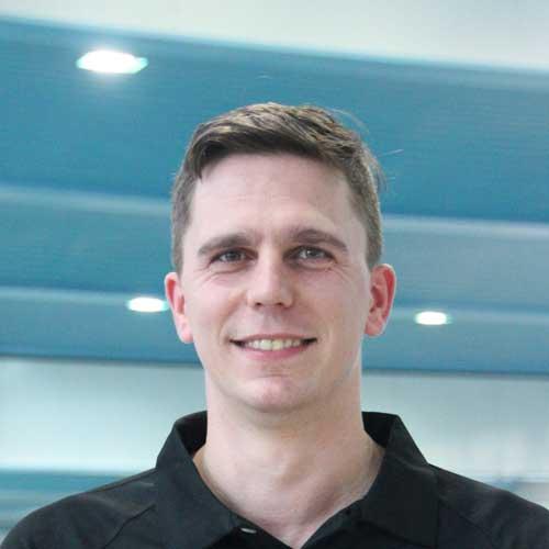 Trainer Christopher Bott