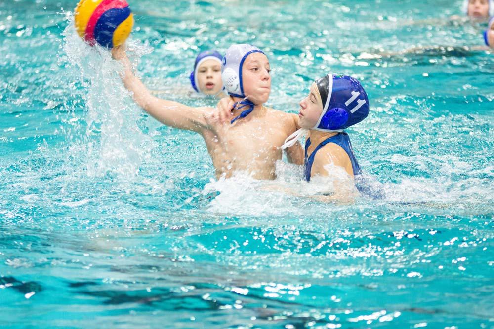 U14 Wasserballer mit 5. Platz bei Ostdeutschen Meisterschaften